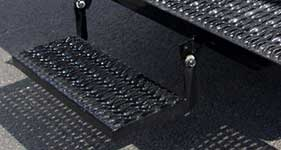 diamond grating folding step fabrication