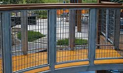 wire mesh Infill-Panels-walkway