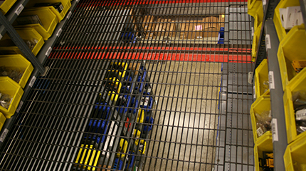 mezzanine grating custom fabrication