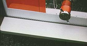 tread grip stair tread fabrication