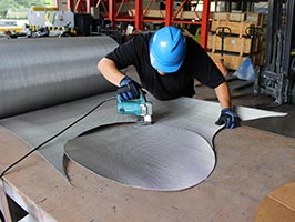 custom-cutting-wire-mesh, wire fabrication, cutting wire mesh, custom space cloth