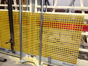 fabricated molded grating