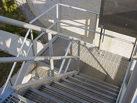 bar-grating-stair-treads; stair treads; marco steel