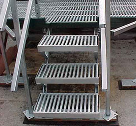 safety grating; marco grating; grate-lock stair treads