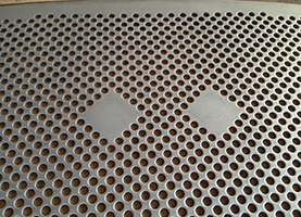 custom perforated; perforated; custom punching