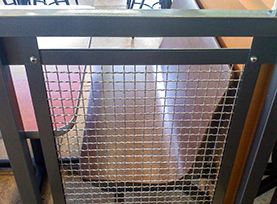 Wire Mesh_Space Cloth 1, space cloth wire mesh infill panel