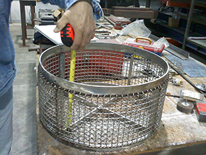 woven wire mesh; marco mesh; wire fabrication