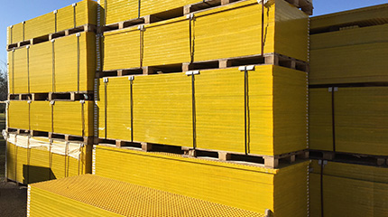 molded fiberglass grating-inventory, frp