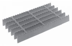 bar grating serrated surface option