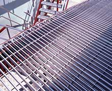 Aluminium bar grating