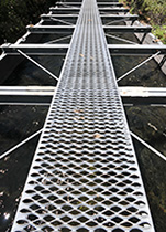 diamond walkway grating