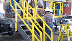 frp handrails from structural shapes