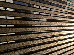 orsogril louvered panel fence