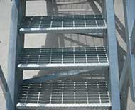 bar grating stair treads