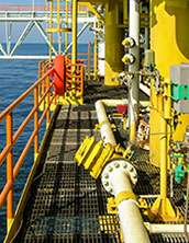 bar grating offshore decking