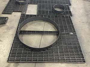 pressure vessel internals fabrication