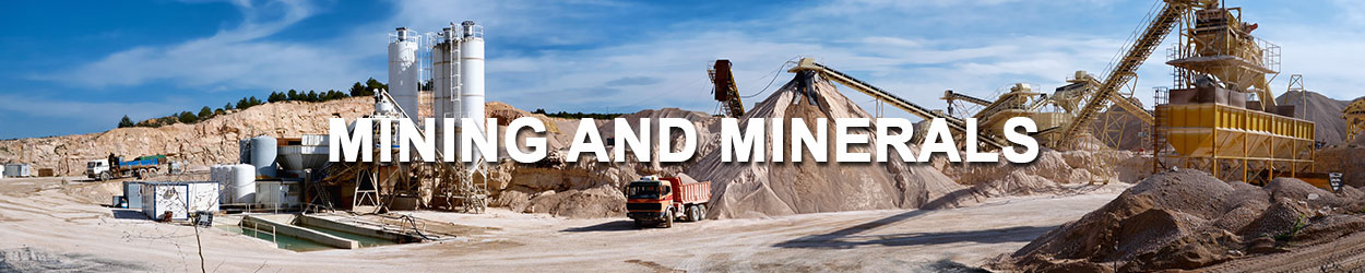 mining and minerals industry