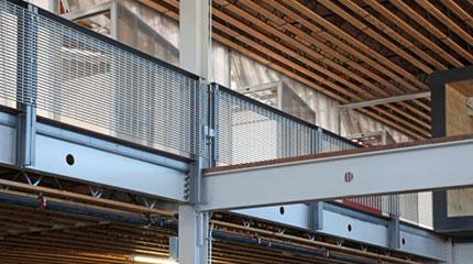 Bar Grating Infill Panels