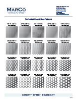 perforated-hole-patterns-round