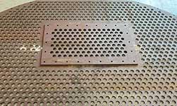 Custom Perforated Metal, custom punched metal