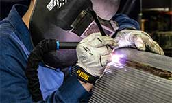 Welding Perforated Metal