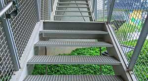 exterior metal stair treads