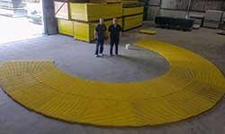 Fiberglass Grating Fabrication Services