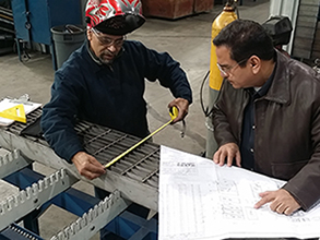 bar-grating-fabrication; grating fabricating