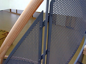 infill-panel-perforated; perforated infill panel; custom infill panel