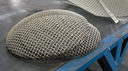 wire cloth fabrication, screening, wire cloth suction screen