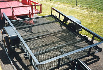expanded-metal-fabrication-trailer; marco fabrication; fabricating