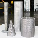 tube and cylinder screen fabrication