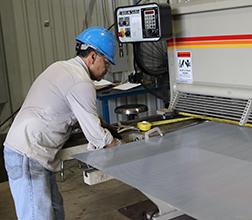 metal fabrication; marco fabricating; perforated metal