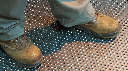 tread grip safety grating