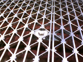 riveted-grate, riveted bar grating