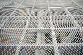 Expanded Metal Grating | Expanded Grating Custom Fabrication