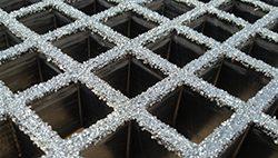 open molded fiberglass grating