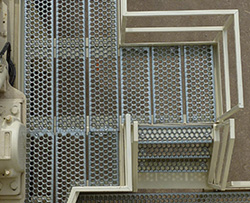 perf metal safety grating