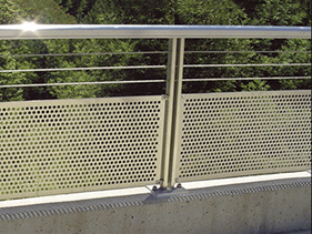 Perforated Metal_Round Hole; perf; marco perf; round holes