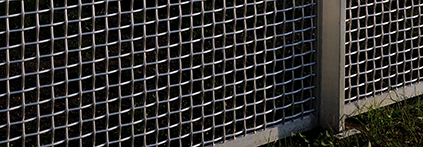 Woven Wire Cloth Fence