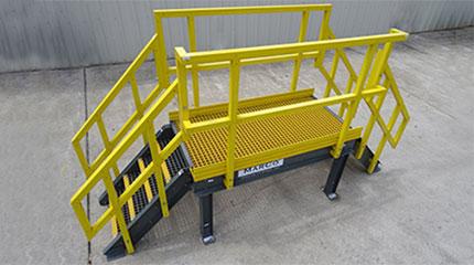 fiberglass-frp-crossover-platform