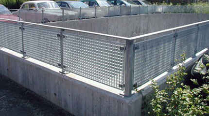 Architectural-Bar-Grating, Bar Grating Infill Panels