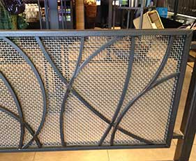 Wire Cloth Infill Panel-gate