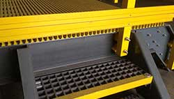 FRP-stair-treads-and platform