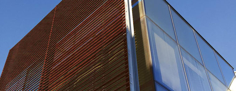 TALIALIVE-Louvered-Panel-on a building