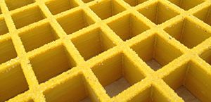 grip top molded FRP grating