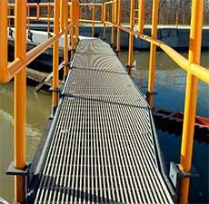 pultruded-FRP-bridge, pultruded fiberglass