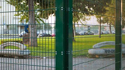 orsogril recintha-Satdium-wire-fencing-panel