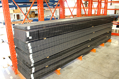 bar grating inventory, surrated welded grating