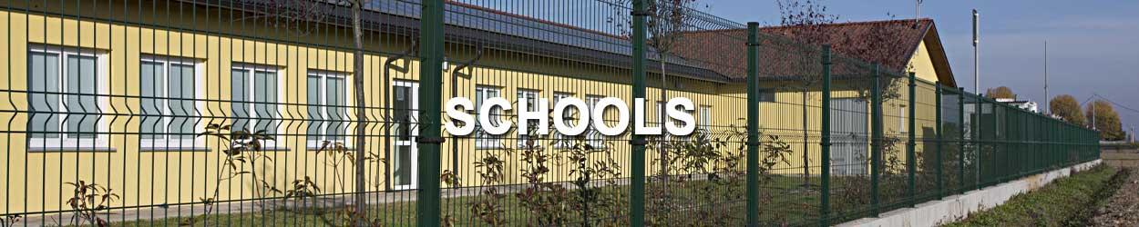 steel used in schools